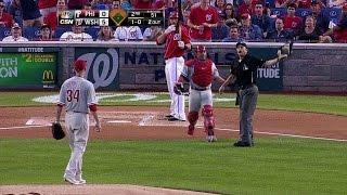 PHI@WSH: Sandberg, Burnett ejected in the 2nd inning