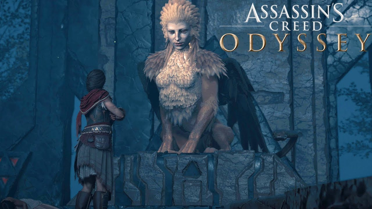 Assassin's Creed: Odyssey - #48 Lore of The Sphinx - (4K) - No Commentary