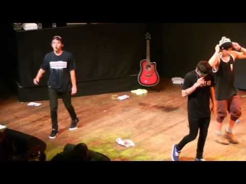 The janoskians live in LA on 6/5/13 One Thing parody!