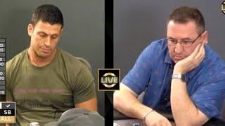 Garrett Adelstein Puts Opponent In A Tough Spot ♠ Live at the Bike!
