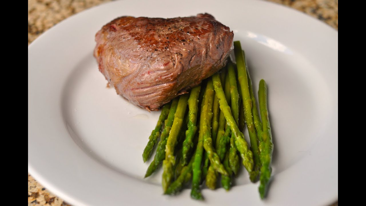 How to cook steak and asparagus sous vide youtube ccuart Gallery