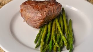 How to cook Steak and Asparagus Sous Vide