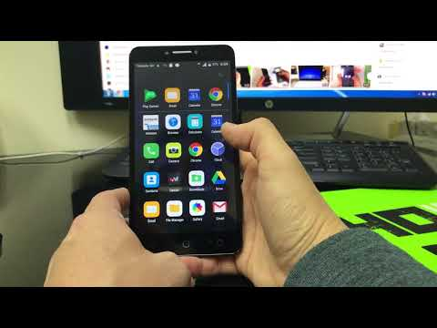 How to install SD and SIM card into Alcatel PIXI Theatre