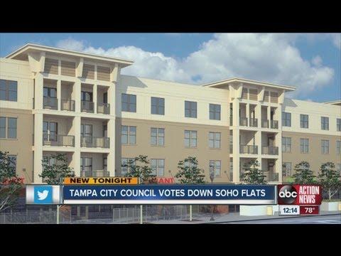 Tampa City Council: SoHo Flats a no-go