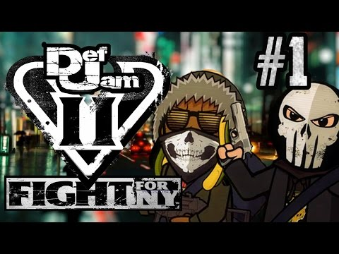 Cryme Tyme LP - Def Jam Fight For NY (Part 1)
