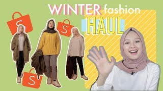 Winter Fashion Haul feat. Shopee