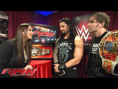 Stephanie McMahon plays mind games with Roman Reigns and Dean Ambrose: Raw, February 1, 2016 thumbnail