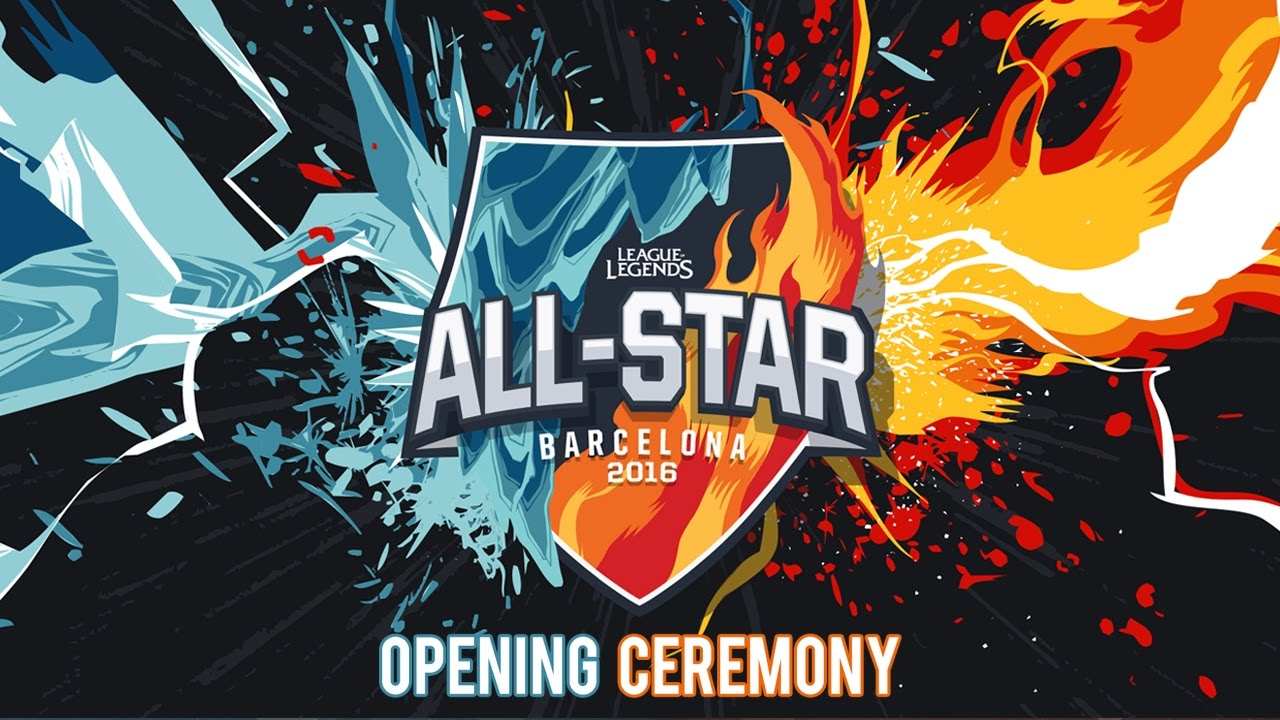 7b98d6098e40 All-Star 2016 Opening Ceremony - YouTube