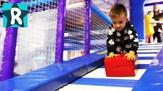 Влог Парк Развлечений для Детей Новый Развлекательный Центр. Киев. Amusement park indoor playground