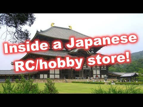 Inside A Japanese RC Hobby Store