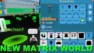 "NEW ""THE MATRIX"" MAP/WORLD IS NOW RELEASE 