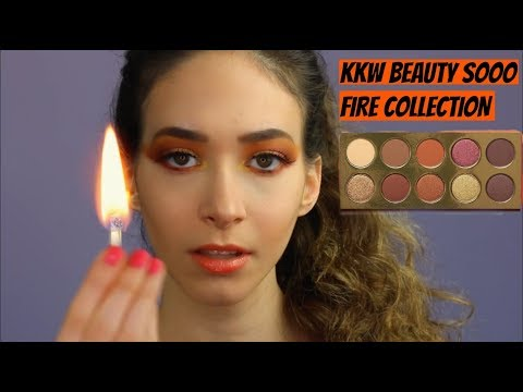 KKW BEAUTY SOOO FIRE COLLECTION REVIEW - Sasha Anne thumbnail