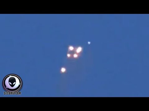UFO FLEET Over Russia Again.. Lights In The Sky! Alien Sightings May 2015