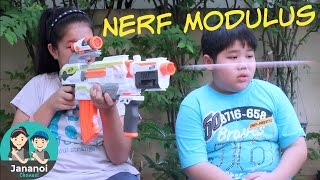 NERF Modulus #1: รีวิวปืน NERF N-Strike Modulus | จาน่าน้อย