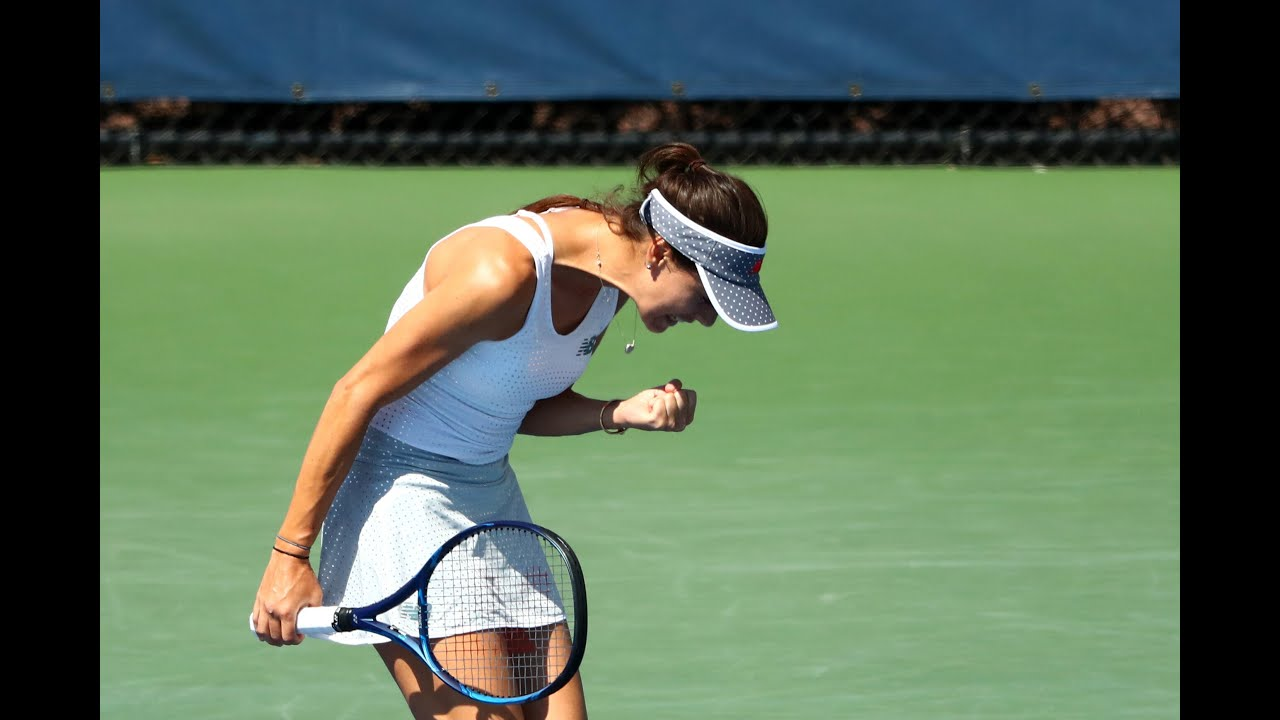 Karolina Muchova vs Sorana Cirstea dramatic third set tiebreak! | US Open 2020