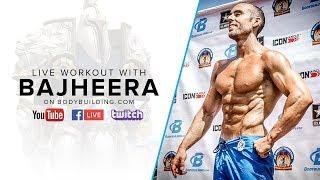 Titanforged Chest Training | Jackson 'Bajheera' Bliton, Pro Natural Bodybuilder