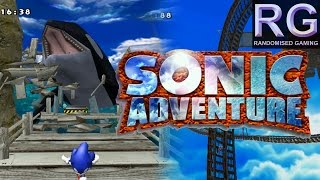 Sonic Adventure - Sega Dreamcast - Intro, Emerald Coast & Windy Valley gameplay [HD 1080p 60fps]