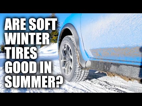 Why You Shouldn't Run Winter Tires All Year - With Proof!