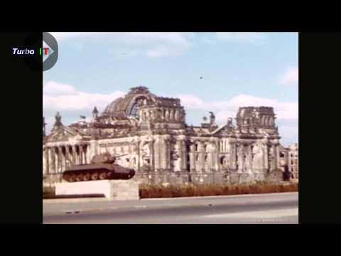 Berlin Germany 1947 Rare Color film  #1 (Must see)