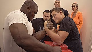 SCHOOLBOY VS KHALED (AWA) | ARM WRESTLING MATCH 2020