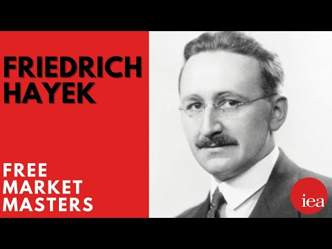 Free Market Masters  Friedrich Hayek
