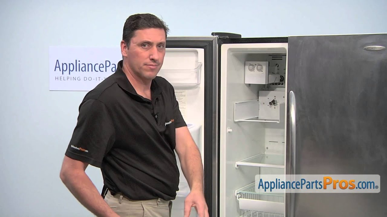Refrigerator Icemaker (part #5304458371) - How To Replace on