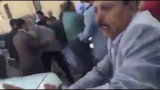 بالفيديو .. محاولة الحوثيون قتل رئيس هيئة التأمينات - صحيفة صدى الالكترونية