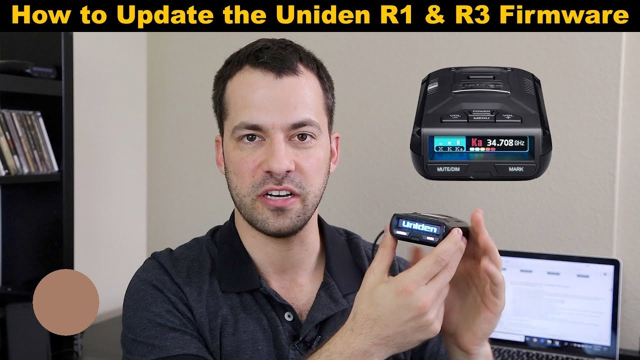How to Update the Uniden R1 & R3 Firmware