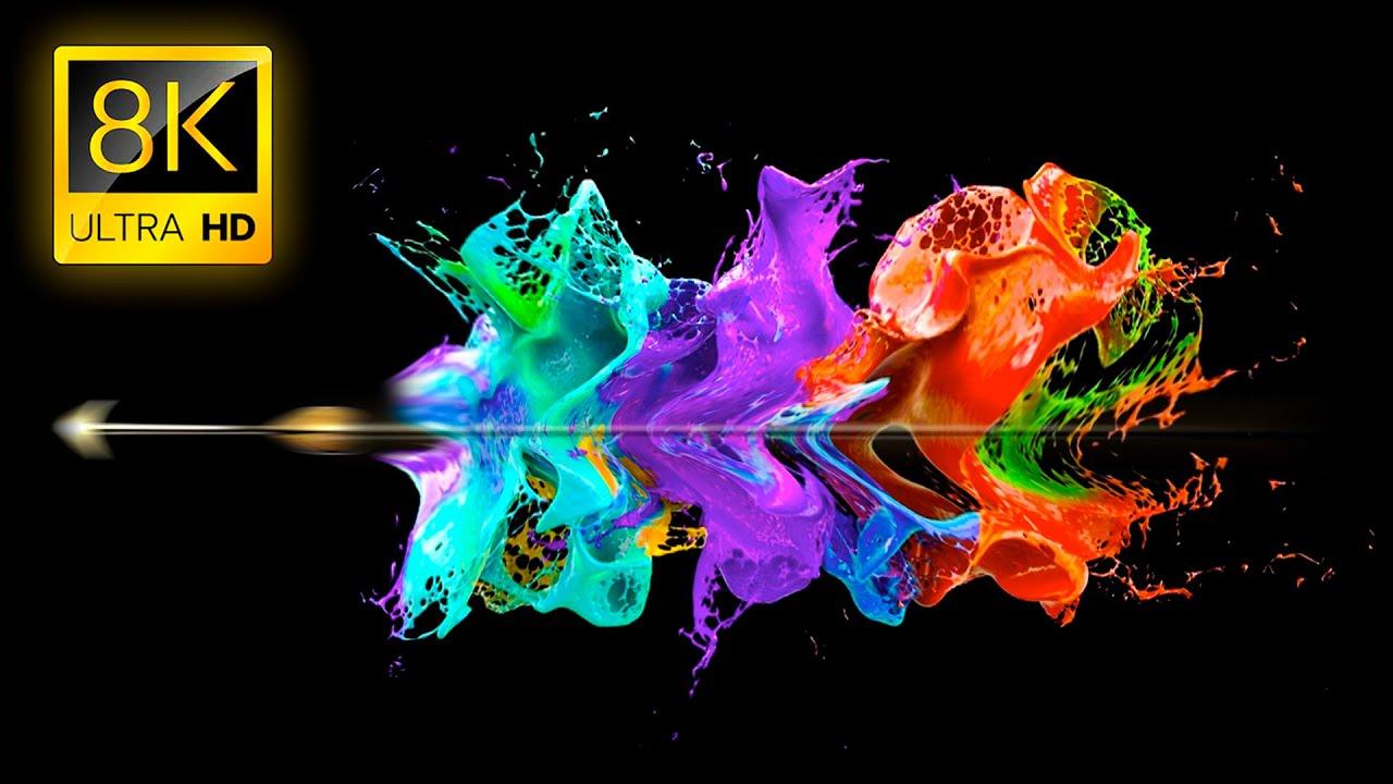 8K Images : Super Slow Motion In 8k Ultra Hd 1000fps Youtube