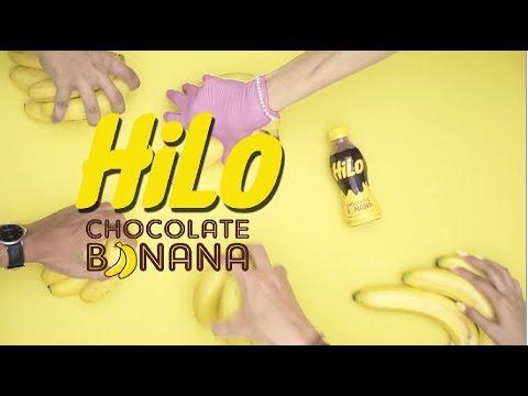 HiLo Chocolate Banana versi Flatlay