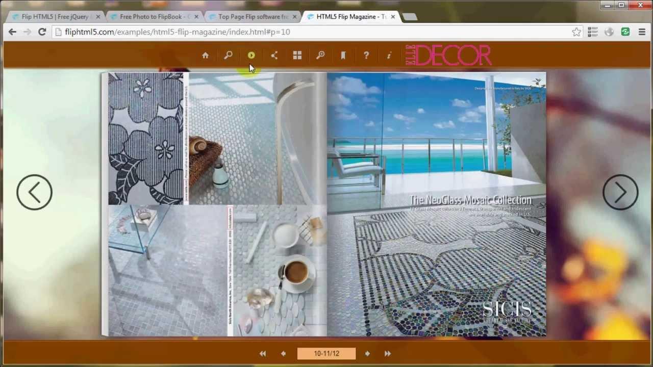 Flip Html5 Cool Page Flip Software To Publish Online Flip Book