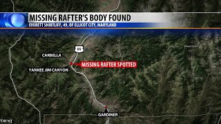 Man identified in Montana rafting accident