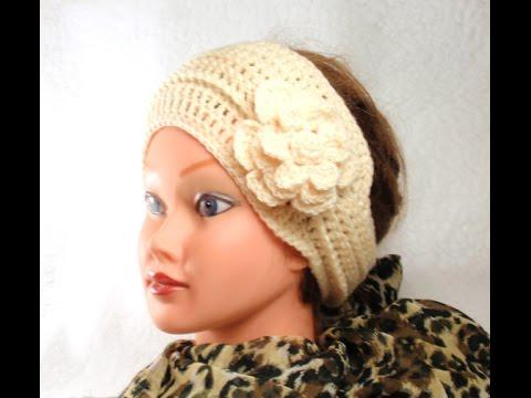 DIY Crochet Headband, Tutorial, DIY Crochet Headband - YouTube