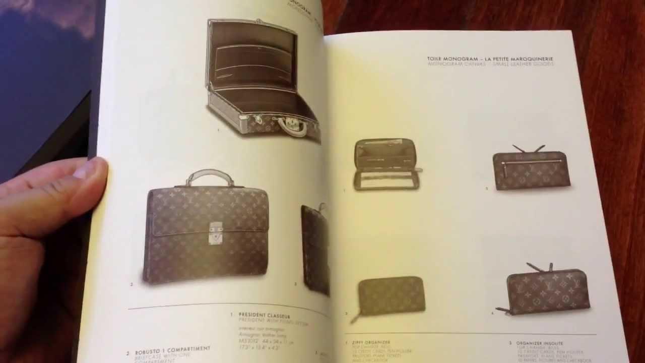 9d7f2373af08 Collecting Louis Vuitton - Wonderful Louis Vuitton Catalogues - Store  Cataloques - YouTube