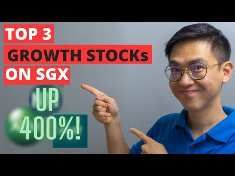 Top 3 Growth Stocks on the Singapore Exchange!