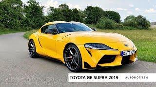 Toyota Supra (A90) 2019 - der neue Kult-Sportwagen? Review, Test, Fahrbericht