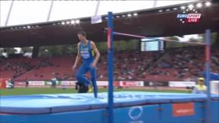 Бондаренко 2,23 Чемпионат Европы Высота Квал 13 авг 2014