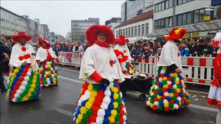 Osnabrücker Karneval 2018 (Ossensamstag) mit Musik von: Höhner - Steh auf, mach laut!