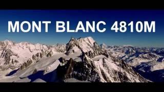 Mont Blanc Gouter Route 2016 Go Pro HD