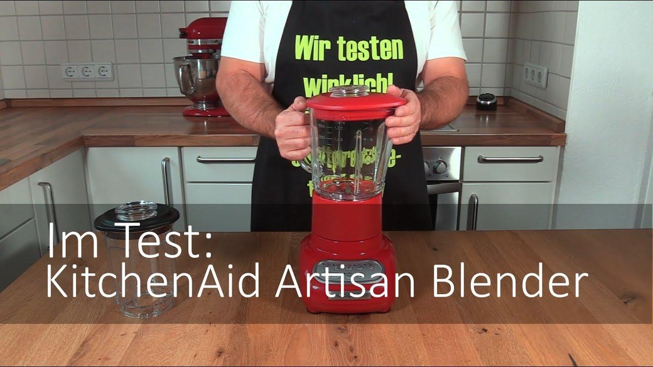 Der Kitchenaid 5ksb5553 Artisan Blender Im Test Youtube