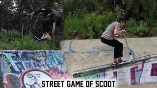 STREET GAME OF SCOOT! Jack Dauth VS Will Cashion