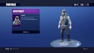* NOVO * ABSTRAKT Skin no Fortnite: Battle Royale!