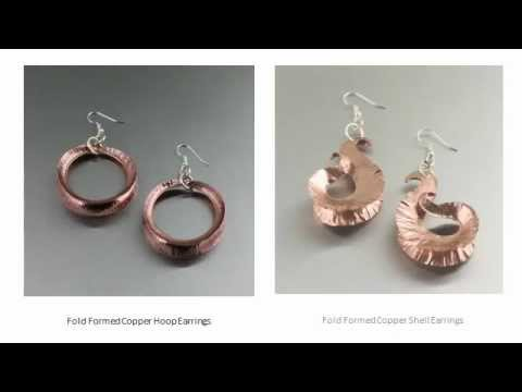 Copper Fold Formed Jewelry Collection by I Love Copper Jewelry ...