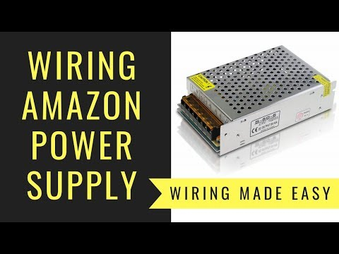 How to Wire a Cheap Power Supply
