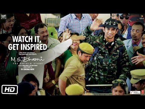 M.S - The Untold Story | Watch it, Get Inspired | Sushant Singh Rajput | Neeraj Pandey
