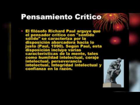 "pensamiento critico ""Richard Paúl"""