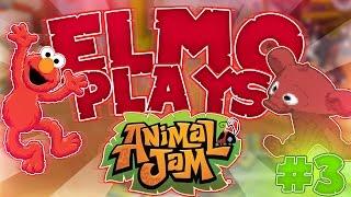 ELMO PLAYS ANIMAL JAM #3!
