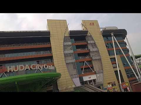 Huda city centre Delhi view