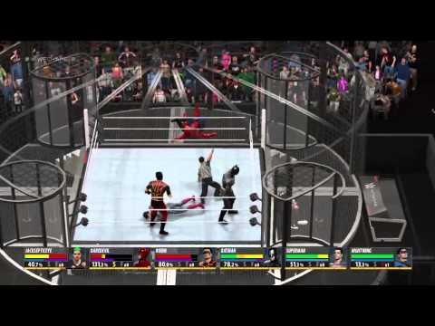 Jacksepticeye vs Super Heros Elimination  Chamber Match