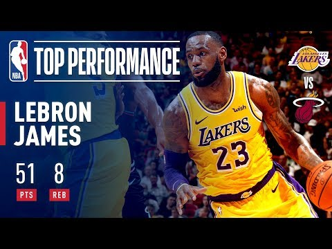 LeBron James Drops A Season High 51 POINTS In Miami | November 18, 2018